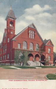 EVANSTON , Illinois , 1900-10s ; First Congregational Church