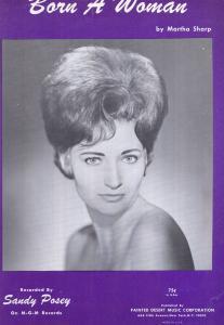 Born A Woman Martha Stone XL Sheet Music