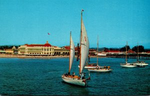 California Santa Cruz Yachting On Monterey Bay