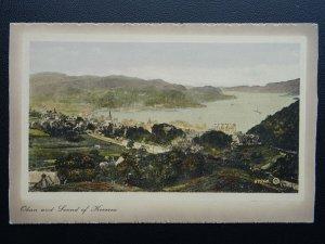 Scotland Argyl OBAN & THE SOUND OF KERRERA c1911 Postcard by Valentine 67568