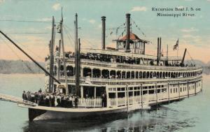 Excursion Boat J.S. , Mississippi River , 00-10s