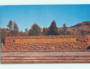Pre-1980 MONUMENT SCENE Riverton Wyoming WY AE7228