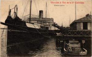 CPA INDOCHINE Chocolat & The de la Cie Coloniale - Embarcadere (257080)