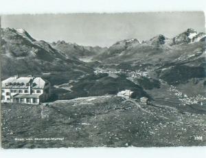 old rppc MUOTTAS MURAGL Samedan & St. Moritz & Pontresina Switzerland i2201