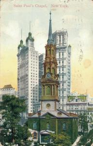 USA - Saint Paul's Chapel new york 01.99