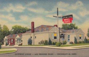 CINCINNATI , Ohio , 1930-40s ; Gateway Lodge