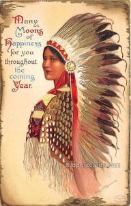 New Year, Ellen H Clapsaddle, Series 1337 Unused