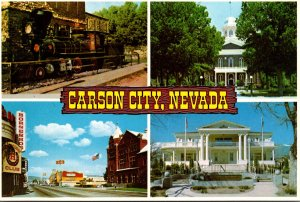 Nevada Carson City Downtown State Capitol Governor's Mansion and Glenbro...