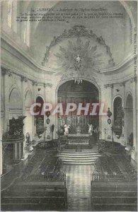 Old Postcard Lisieux Inland Church Saint Desir