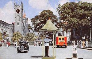 Barbados West Indies Post card Old Vintage Antique Postcard Trafalgar Square ...