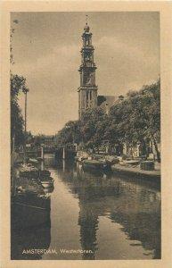 Netherlands Amsterdam Westertoren Postcard