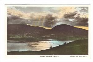 RP, Sunset, Okanagan Lake, British Columbia, Canada, 1920-1940s