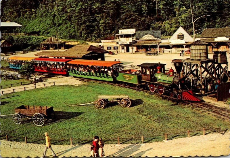 North Carolina Cherokee Frontierland Old Frontier Steam Train
