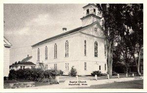 Massachusetts Mansfield Baptist Church Dexter Press