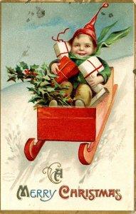Greeting - Christmas    Artist: Clapsaddle