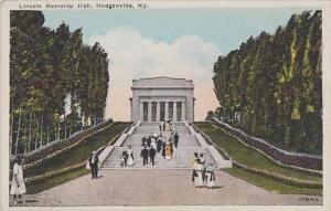Kentucky Hodgenville Lincoln Memorial Hall