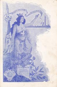 Art Nouveau woman , Distretto Militare di BOLOGNA Manifesto , Italy , 1890s