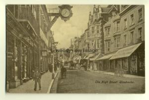 tp5942 - Hants - The High St. in Winchester by J. Kaines Shop - Postcard