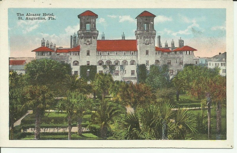 St. Augustine, Fla., The Alcazar Hotel