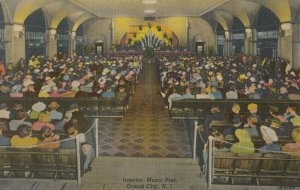 OCEAN CITY , New Jersey, 1930-40s ; Interior , Music Pier