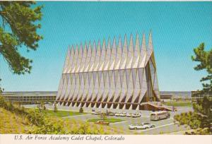 Colorado Colorado Springs United States Air Force Academy Cadet Chapel