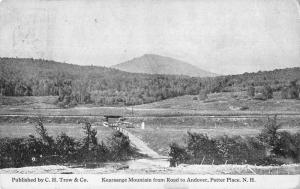 Potter Place New Hampshire Kearsage Mountain Scenic View Postcard JD933763