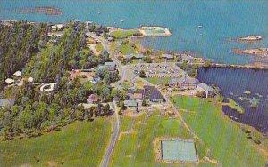 Maine Sebasco Estates Sebasco Lodge And Cottages On Casce Bay