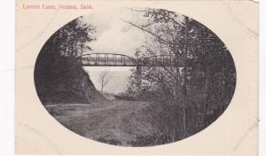 NUTANA , Saskatchewan , Canada , 1901-07 ; Bridge over Lover's Lane