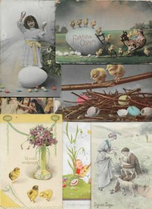 Happy Easter Vintage Postcard Lot of 20 01.16