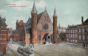 S'GRAVENHAGE, Netherlands, 1900-10s ; Binnenhof met Ridderzaal