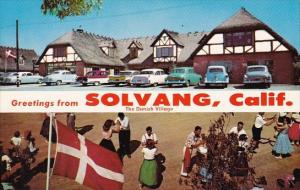 California Solvang Greetings From Solvang The Danish Village