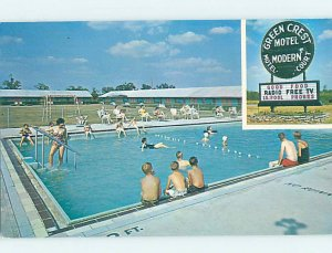 Pre-1980 SWIMMING POOL SCENE Kansas City Missouri MO AD9300