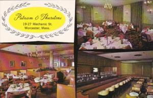 Massachusetts Worcester Putnam & Thurstons Restaurant