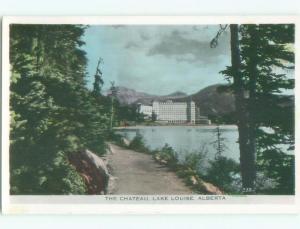 1950's rppc NICE VIEW Lake Louise Alberta AB W0917