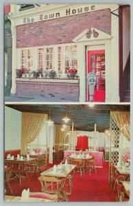 Danville Kentucky~The Town House Interior~Vintage Postcard