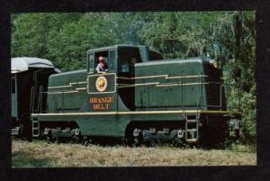 FL SAN ANTONIO Cypress Railroad Train BRANTON FLORIDA
