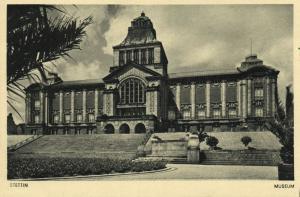 poland, SZCZECIN STETTIN, Museum (1930s)