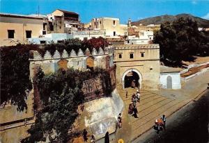 Morocco Tetuan Marruecos Puerta de la Reina Gate Street