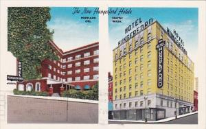 New Hunger ford Hotels Seattle Washington 1963