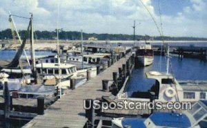 Charter Boats, Municipal Pier in Gulfport, Mississippi