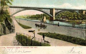 NY - New York City. Washington Bridge and Speedway
