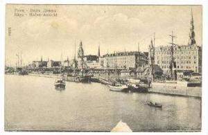 Riga, Latvia, Hafen-Ansicht,00-10s