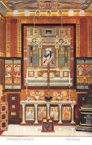 Raphael Tuck Titania's Palace The Chapel Series II #4522 Postcard