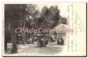 Old Postcard Le Mont Dore Restoration