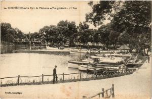 CPA COMPIEGNE Le Port de Plaisance - Vue générale (375734)