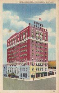 Maryland Hagerstown Hotel Alexander Curteich sk6316