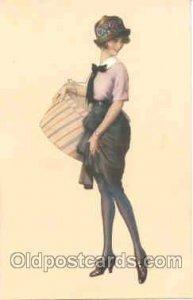 Artist SUSA n Meunier (France) Series 5018 Unused