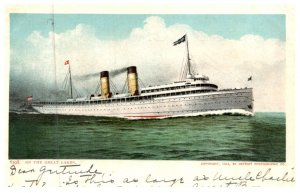 Steamer  on the Great Lakes
