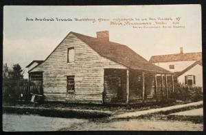 Postcard Unused House of Alice Vincennes Indiana LB
