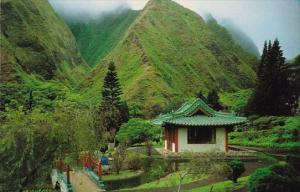 Hawaii Maui Kapaniwai Heritage Gardens